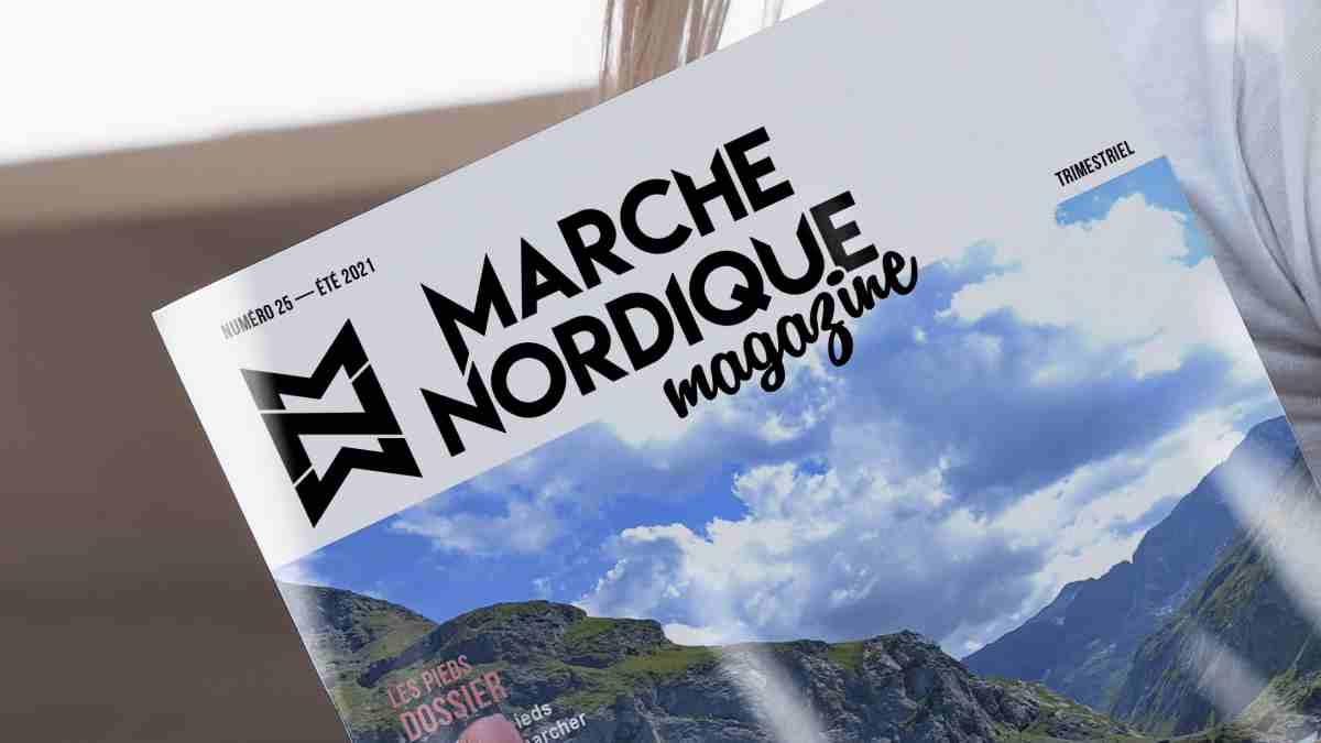 Couverture Marche Nordique Magazine n°25
