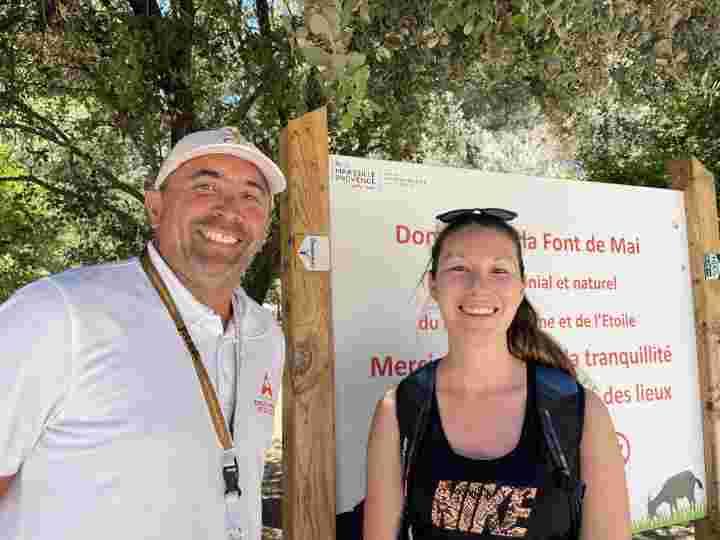 Lucie Gaubert et Olivier Chesneau