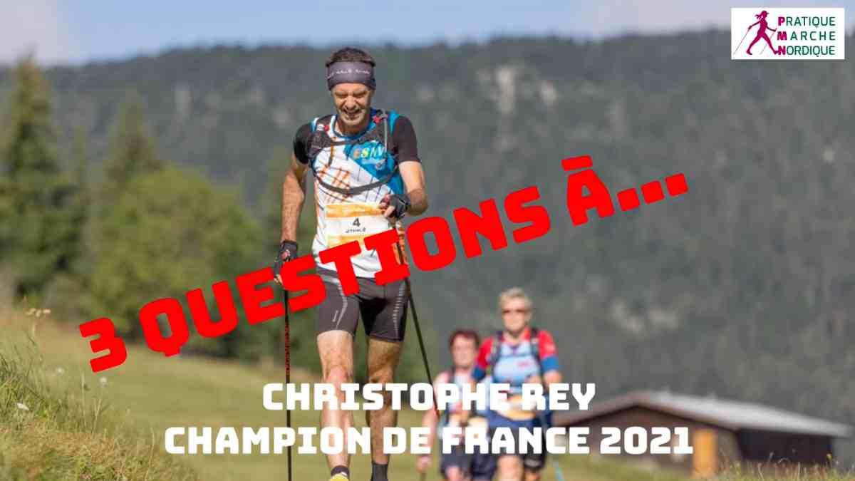 Christophe Rey lors du championnat de France