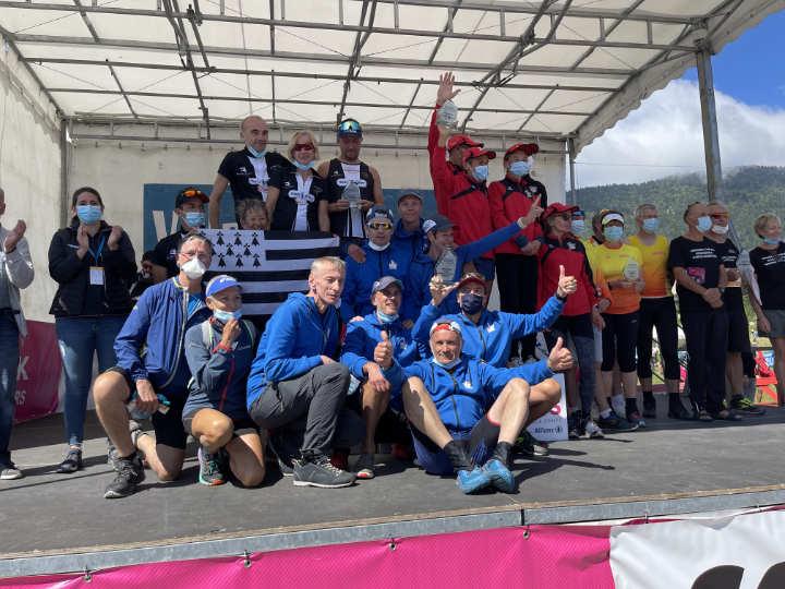 Team Guidetti dans le Vercors