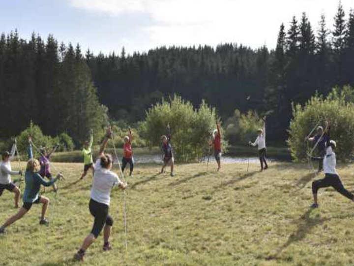 Nordic Yoga en fin de séance